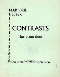 Contrasts - For Piano Duet
