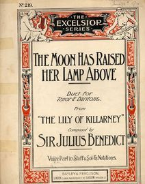 The moon has raised her lamp above - Duet for Tenor & Baritone - from