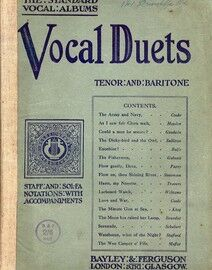 Vocal Duets - Tenor and Baritone - The Standard Vocal Albums Series - Staff and Sol-Fa Notations with Accompaniments