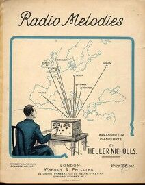 Radio Melodies - Arranged for Pianoforte