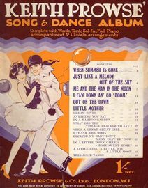 Keith Prowse' Song & Dance Album - Complete with Words, Tonic Sol-fa, Full Piano accompaniment & Ukulele arrangements