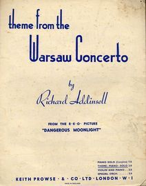 Theme from the Warsaw Concerto - From the film