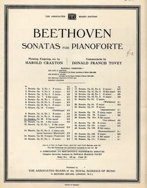 Beethoven Sonata No. 11 in B flat Major - Op. 22 - Beethoven Sonatas for Pianoforte