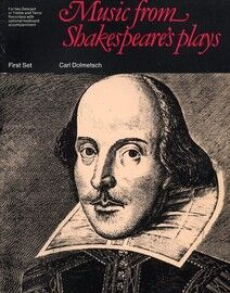 Music from Shakespeare's Plays - For 2 Descant or Treble and Tenor Recorders with optional Keyboard accompaniment - First Set - Featuring Shakespeare