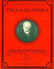 Orchesterwerke - Orchestral Compositons - Heft III - Piano Solo - Corona Collection edition no. C. 69