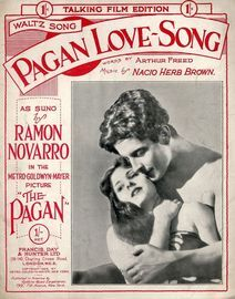 Pagan Love Song - from