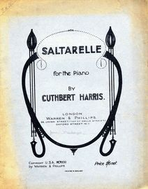 Saltarelle - For The Piano