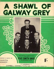 A Shawl of Galway Grey, featuring The Five Smith Bros.
