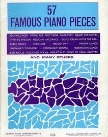 57 Famous Piano Pieces