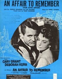 An Affair To Remember (Our Love Affair) Cary Grant and Deborah Kerr