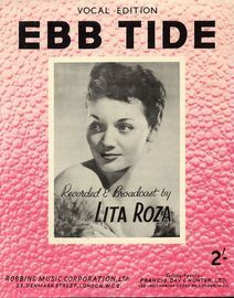 Ebb Tide - Song - Vocal Edition - Featuring Lita Roza