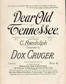 Dear Old Tennessee