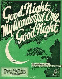 Goodnight, My Wonderful One, Goodnight - Song
