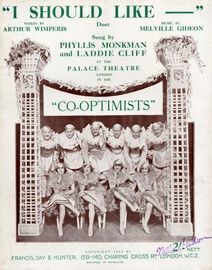 I Should Like - Duet - From the Revue 'Co-optimists'