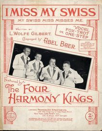 Jai Perdu ma Suissesse (I miss my Swiss) - The Four Harmony Kings