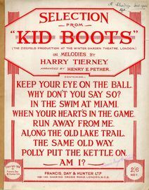 Kid Boots - Selection - For Piano Solo