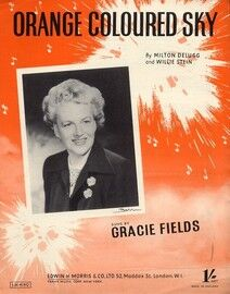 Orange Coloured Sky - Featuring Gracie Fields