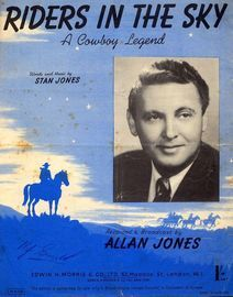 Riders In the Sky (A cowboy legend) -  Featuring Allan Jones