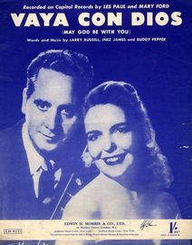 Vaya Con Dios (May God be with you): Les Paul and Mary Ford, The Beverley Sisters, Milligan and Nesbitt, Hugie Green on Opportunity Knocks