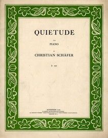 Quietude for piano