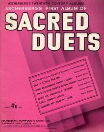 Ascherberg's First Album of Sacred Duets - With Piano accompaniment