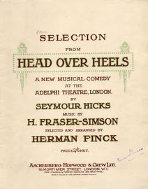 Head Over Heels - Piano Selection from the Musical Comedy