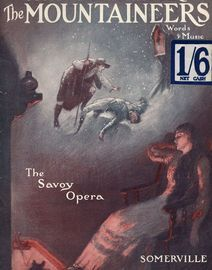 The Music Lovers Library No. 55 - The Mountaineers, the savoy opera, Words and Music