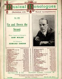 Up and Down the Strand - Musical Monologues series of recitations with musical accompaniments Series No. 138 - As performed by both Sam Walsh and Edmu