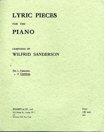 Cantilena -  Lyric Pieces for the Piano