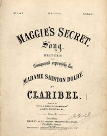 Maggie's Secret - Song in the key of F Major for High Voice