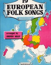 19 European Folk Songs