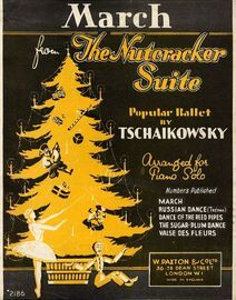 March from the Nutcracker suite - Piano Solo based on the popular Ballet