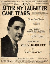 After My Laughter Came Tears - Featuring Olly Barratt