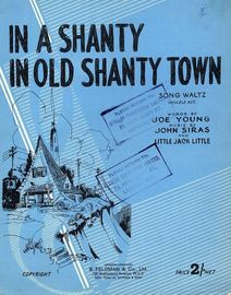 In A Shanty in Old Shanty Town - Song Waltz
