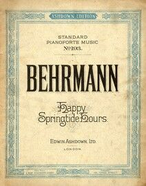 Happy Springtide hours for Pianoforte by Heinrich Behrmann