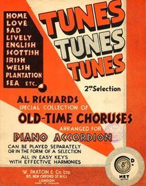 Tunes Tunes Tunes - Special Collection of Old-Time Choruses - Arranged for Piano Accordion