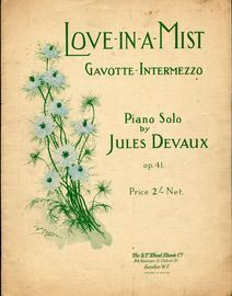 Love In A Mist - Gavotte Intermezzo, Op. 41