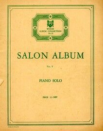 Salon Album Volume V -  Piano solo -  Wood Album Collection, some 64 pages