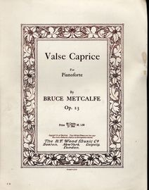 Valse Caprice for Piano - Op. 23