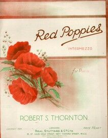 Red Poppies - Intermezzo for piano solo