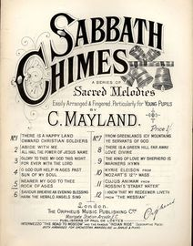 Nearer to my God to thee and Rock of Ages - Sabbath Chimes Series of Sacred Melodies No. 5