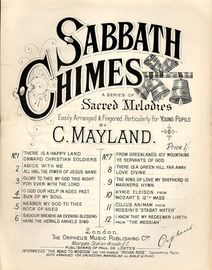 O God our help in ages past and Sun of my Soul - Sabbath Chimes Series of Sacred Melodies No. 4