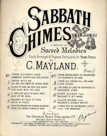 There is a Green Hill Far Away and Love Divine - Sabbath Chimes Series of Sacred Melodies No. 8