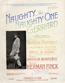 Naughty Naughty One Gerrard - Featuring Teddie Gerrard in (
