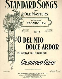 O Del Mio Dolce Ardor (O Zephyr soft and kind) - Song in Key of D minor