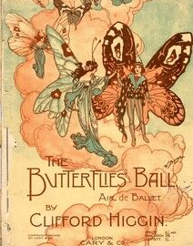 The Butterflies Ball, for piano