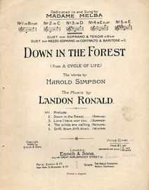 Down in the Forest - Song - From
