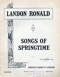 Landon Ronald - Songs of Springtime - For Low Voice