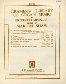 Andante and Allegro from String Concerto No. 3 in G major - Cramers Library of Organ Music by British Composers - Set 10, No. 6