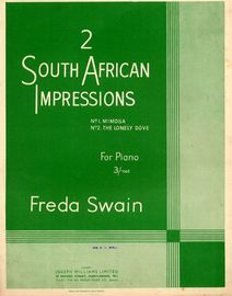 2 South African Impressions for Piano